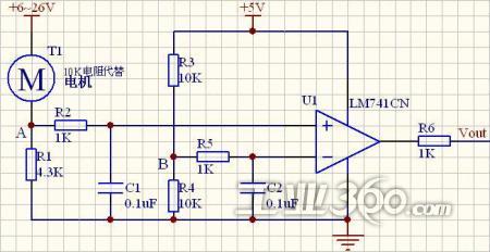 基于lm393的电机保护电路设计_技术方案_工控网_工业
