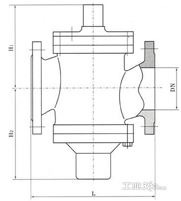 zlf自力式流量平衡阀图片