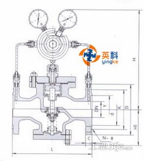 yk43x/f气体减压阀图片