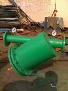 管道过滤器 手摇刷过滤器 管道除污器