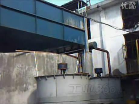 涡凹气浮机污水处理运行现场