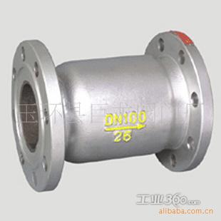 供应h41s-16/25卧立两用静音氨用止回阀,法兰铸钢,铸铁止回阀图片
