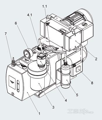 基于相干分析的离心式压缩机噪声源识别图片