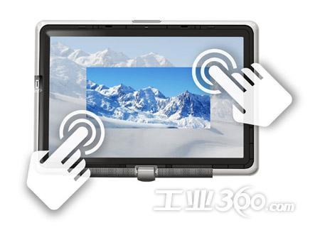 触摸屏三大主流技术解析 单点及多点触控