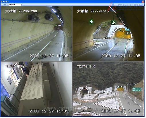 高速公路摄像头隔站连接环形结构熔接详解