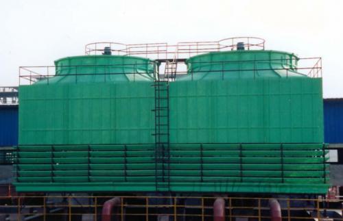 1—1997的规定:标准型冷却水塔的设计湿球温度为28℃,一般而言,按湿球
