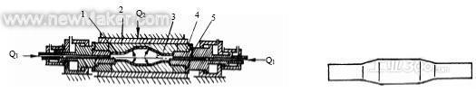 2 第二次液压胀形   如图4 所示,第二次胀形所用的模具结构与首次胀形图片