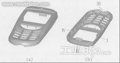 2 型腔,型芯的结构   (1) 型腔的结构设计: 本设计采用嵌入式型腔结构