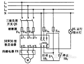 3rw30型软启动器在船舶上的应用