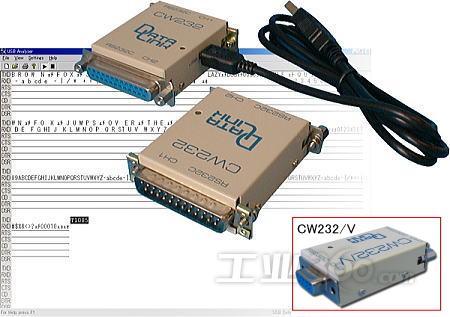 日本datalink推出全球最轻巧rs232c串口通信分析仪