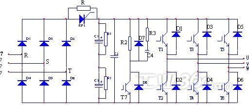 4.风光抽油机专用变频器的节能原理 风光抽油机专用变频器可根据井下供液情况,自动调整抽油井工作制度,使游梁式抽油机的固定动态特性变为可根据油井开采情况自动调节的可变动态特性,提高泵充满系数及排量系数,达到节能,增产,无级调速的效果。 风光抽油机专用变频器采用动态调节抽油机的冲程频次和上、下行程的速度,达到节电又增产的目的。 (1)可以动态调节抽油机的冲程频次,节电。抽油机的冲程频次可以通过机械的方法调整,但是,一旦调整好之后,人是不可以经常改动的,并且通过皮带轮直径调整频次的方法是有限的,不