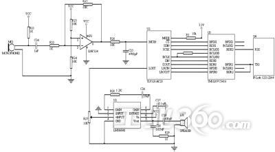 内置耳机放大器,支持立体声线路输入和麦克风输入两种方式,且对输入