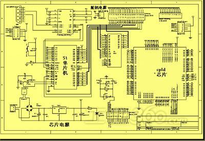 硬件电路板线路设计图