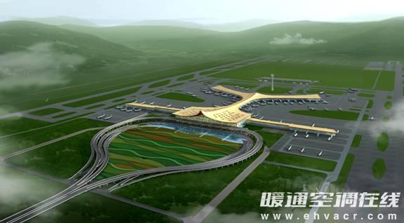 长沙黄花国际机场牵手申菱空调