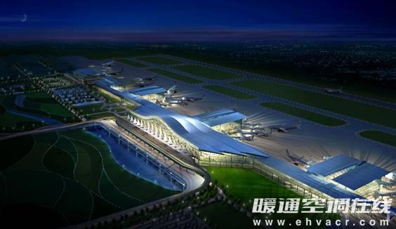 黄花国际机场第三代航站楼由主楼
