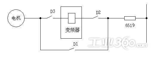 3a凝结水泵变频器电气一次接线