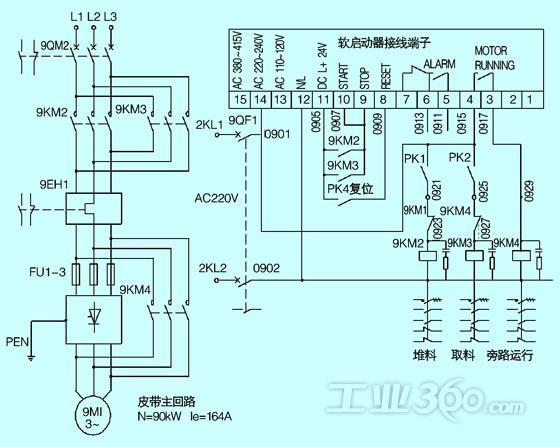 电动机星三角降压启动控制回路电压一般是多少伏图片