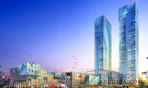 技术方案 典型案例 >>正文    泊富国际广场筑造长沙新地标  去年