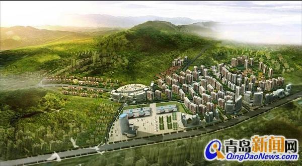 青岛新都心组团 青岛新都心组团的大山村旧村改造项目包括大山自然