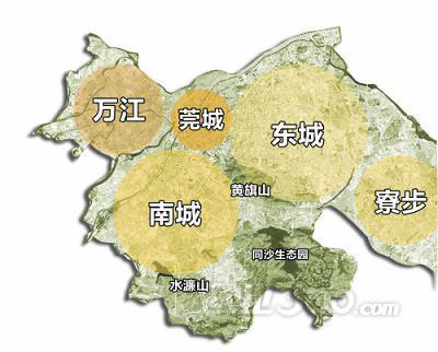 """""""六园""""指寮步香市海洋动物园,香市公园,农业生态园,汽车文化主题公园"""