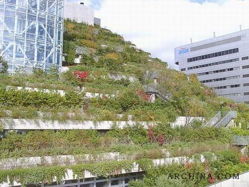 斜坡绿化设计