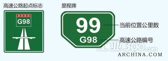 此次g98海南环岛高速公路新标志体系较原先相比有了新改观,据