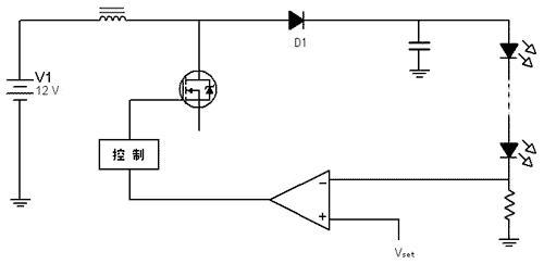 利用el7516制作高效,高电流的白光led驱动器