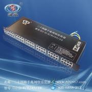 24路机架式千兆网络信号(千兆网络交换机)防雷器 避雷器 浪涌保护器